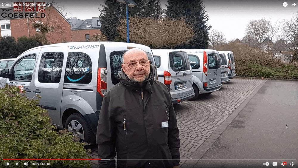 Essen auf Rädern erhält Ehrenamtspreis der Stadt Coesfeld